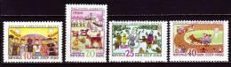 Russland 1960 - 2352-55 **/ Michel 2008 - Unused Stamps