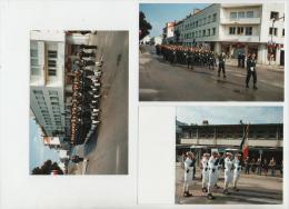 Photos Originales (tirage Octobre 1994) De CHASSEURS  - Cérémonie - 1939-45