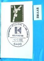 SY1182 125. Jahre Kolpingwerk, Kolping, Kolpingtag, 6400 Fulda DE 4.5.1980 - BRD