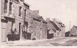 35 LE VIVIER Sur MER   Pensionnat GRIFFON Maisons En Pierres Route De DOL - Francia