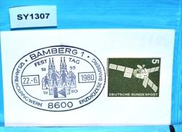 SY1307 125 Jahre Kolpingwerk, Kolping, Kirche, Dom, 8600 Bamberg DE 22.6.1980 - BRD