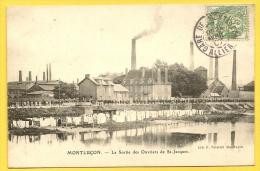 MONTLUCON La Sortie Des Ouvriers De St Jacques (Pointud) Allier (03) - Montlucon