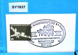SY1837 Tag Der Briefmarke 1981, Postkutsche, 8720 Schweinfurt 15.11.1981 - [7] Federal Republic