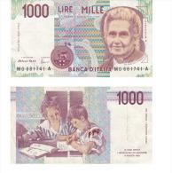 1000 LIRE MG 681741 A - [ 2] 1946-… : République