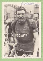 Florent MATHIEU, Autographe Manuscrit, Dédicace. 2 Scans. Cyclisme, Cycliste - Sport