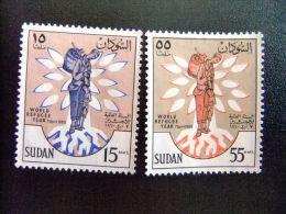SUDAN -  AÑO DEL REFUGIADO 1960 - WORLD REFUGEE YEAR   -- Yvert & Tellier Nº 125 / 126 (*) - Refugiados