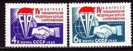 Russland 1962 - 2693-94 **/ Michel 2008 - 1923-1991 USSR