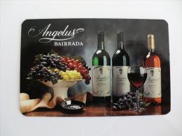 Drink Wine Angelus ( Caves Aliança ) Portuguese Pocket Calendar 1996 - Calendriers
