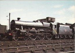 Railway Postcard LMS Jubilee 45593 Kholapur Carlisle Kingmoor Shed 1967 Loco MPD - Trains