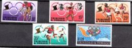 Trinidad & Tobago, 1968, SG 334 - 338, Complete Set, MNH - Trinidad En Tobago (1962-...)