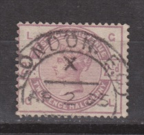 Engeland United Kingdom, Great Britain, Angleterre, Queen Victoria, SG 190, Y&T 79, MICHEL 75  Used Nice Cancel LONDON - 1840-1901 (Victoria)