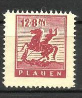 GERMANY ALLIED OCCUPATION (SOVIET ZONE) PLAUEN..1945..Michel # 5...MLH. - Zone Soviétique