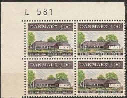 Denmark 1984. Old Country Inn. Michel 810, Plate-block MNH. - Denmark