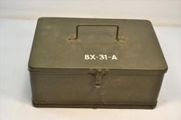 Boite De Rangement BX-31-A BX31A Pour Bc659 Véhicule US WW2 / Matériel Radio équipement Américain - 1939-45
