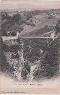 Carte Postale Ancienne De Savoie - Cusy - Pont De L'Abîme - France