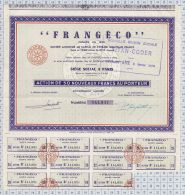 FRANGECO, Nouvelle Dénomination: Titan Coder - Chemin De Fer & Tramway
