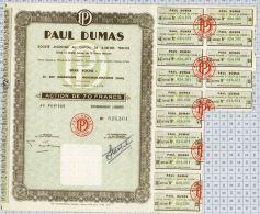 Paul Dumas - Textile