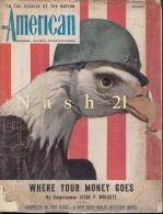 Août 1944 - Revue Mensuelle - ´´ The Américan ´´  - 160 Pages - - Forces Armées Américaines