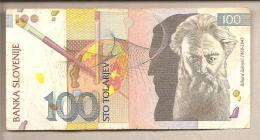 Slovenia - Banconota Circolata Da 100 Talleri - 1992 - Slovenia