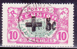 REUNION - YVERT N° 80 OBLITERE - COTE = 134 EUROS - - Reunion Island (1852-1975)
