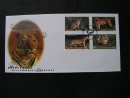 == Thailand Tiger  FDC 1998 - Thailand