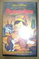 PBY/17  VHS Orig. Walt Disney PINOCCHIO 1993/ Cartoni Animati - Cartoni Animati