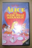 PBY/19  VHS Orig. ALICE NEL PAESE DELLE MERAVIGLIE 1984/ Cartoni Animati - Cartoni Animati