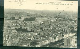N°1051  --  Panorama De Paris - Vue Sur Le Gros Caillou Et Les Invalides , Prise De La Tour Eiffel -     Dah90 - Frankreich
