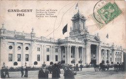 Carte Postale Ancienne De Gand-Gent - Pavillon Du Canada - 1913 - Gent