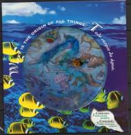 "Nations Unies - ONU - (New-York - Genève - Vienne) - Pochette - 1998 - 3 Feuillets ""Année Internationale De L´océan "" ** - New York/Geneva/Vienna Joint Issues"