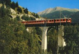 Train Fuka Oberalp Bahn Switzerland - Treinen