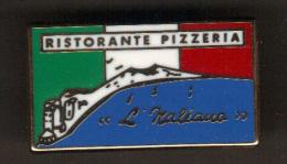 31527-Pin's .Pizzeria.Restaurant L'Italiano... - Alimentation