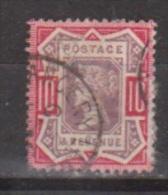 Engeland United Kingdom, Great Britain, Angleterre, Bretagne, Queen Victoria, SG 210  MICHEL 96 Used - 1840-1901 (Victoria)