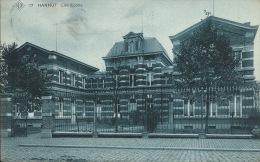 Hannut - Les Ecoles - S.B.P.  -191? ( Voir Verso ) - Hannut