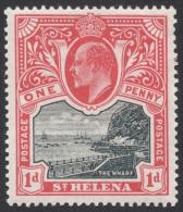 St. Helena, 1 P. 1903, Scott # 51, MH. - Saint Helena Island