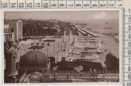 Venezia Lido Panorama Dall'hotel Excelsior E Casinò Municipale 1943 Cartolina Fotografica Seppia - Venezia (Venice)