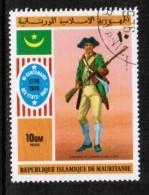 MAURITANIA    Scott  # 341-2,C 160-2  VF USED - Mauretanien (1960-...)