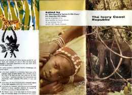 Dépliant Touristique The Ivory Coast Republic - Exploration/Voyages