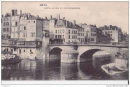 57 METZ PARTIE AN DER SAINT GEORGENBRUCKE CPA BON ETAT - Metz