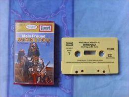 Hörspiel-Cassette: Mein Freund Winnetou 1 - Blutspuren - Europa - MC Von 1980 - Audiokassetten