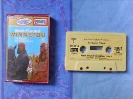 Hörspiel-Cassette: Mein Freund Winnetou 6 - Die Rache Der Cheyennes -Europa-1980 - Audio Tapes