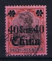 German Post Offices In China Mi 43 Used - Ufficio: Cina