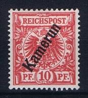 German Colonies: Kameroen Mi  3 D   MH/* - Kolonie: Kamerun