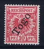 German Colonies: Togo Mi  3 D  MH/* Lilarot