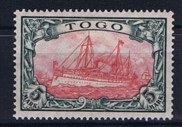 German Colonies: Togo Mi  23 II A Kriegsdruck, 26:17  MH/*