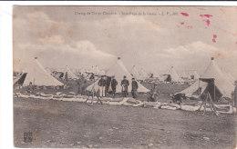Carte Postale Ancienne - Champ De Tir De Chenôve - Installage De La Literie - Manovre