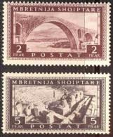 ALBANIA  -  BRIDGE - Amphitheater - Greece  - **MNH - 1939 - Albanien