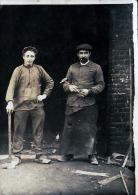 STAMBRUGES MR GROSSELIN RUE NEUVE NE EN 1896 CP  PHOTO DE 1913 - Belgique
