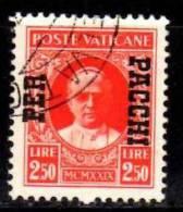 PIA - VATICANO - 1931 :  Pacchi Postali - (SAS11) - Postpakketten
