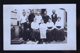 LE 25 JUILLET 1917 LEON ET ADRIENNE  A SITUER CP  PHOTO